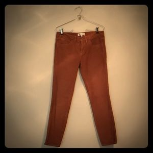 Madewell Skinny Ankle Cords 28